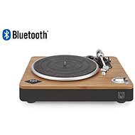 MARLEY Stir It Up Bluetooth - Signature Black, retro turntable made from natural materials - Turntable