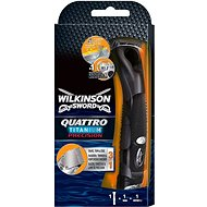 WILKINSON Quattro Titanium Precision + 1 spare head - Electric razor