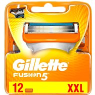 GILLETTE Fusion 12pcs, - Men's shaver replacement heads