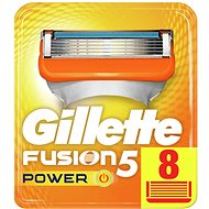 GILLETTE Fusion Power 8 pieces of spare heads - Men's shaver replacement heads