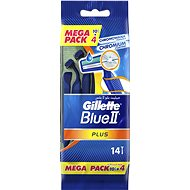 GILLETTE Blue II Plus 10+4 pcs - Razors