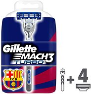 GILLETTE Mach3 Turbo +3 heads - Electric razor