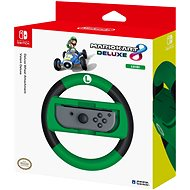 Hori Joy-Con Steering Wheel Deluxe - Luigi - Nintendo Switch - Holder
