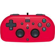 HORI Wired Mini Gamepad red - PS4 - Controller