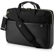"HP Pavilion Accent Briefcase Black/Gold 15.6"" - Laptop Bag"