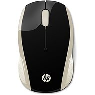HP 200 Wireless Mouse in Silk Gold - Mouse