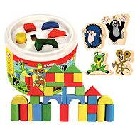 Bino Building Blocks in a Bucket - Mole - Building Kit