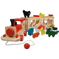 Bino Train with Animals - Zoo Trenino - Educational toy