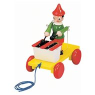 Bino Pinocchio with Xylophone - Push and Pull Toy