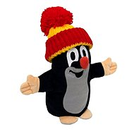Little Mole with Red-Yellow Cap - Plush Toy