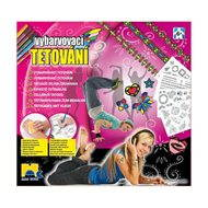 Colouring tattoos for girls - Beauty Set