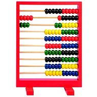 Woody Red Abacus - Educational Toy