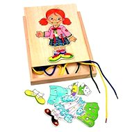Woody Lace-up Wardrobe - Little Girl