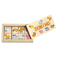 Woody Minidomino - Animals - Board Game