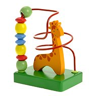 Woody Motor Labyrinth - Giraffe - Educational toy