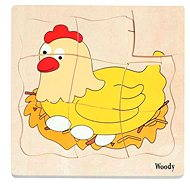 Woody Puzzle on Board - Chick Development