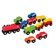 Woody Cars and Trains -