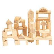 Woody Natural cubes - Game set