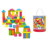 Woody Coloured Wooden Blocks