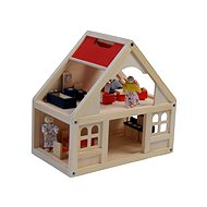Woody Dollhouse with Accessories - Doll Accessory