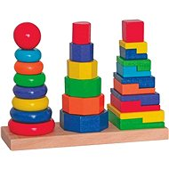 Woody Set Stacking Towers - Educational Toy