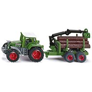 Siku Blister - Tractor with log trailer