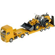 Siku Super - Tractor unit with flatbed and front loader - Metal Model