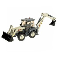 Siku Super - Backhoe Loader - Metal Model