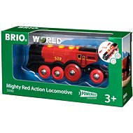 Brio World 33592 A mighty red action locomotive - Toy Train