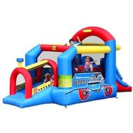Bouncy Train Inflatable Castle - Bouncy Castle
