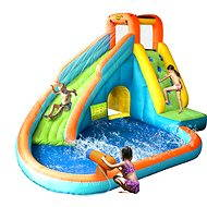 Splash Landing Waterslide With Water Cannon - Bouncy Castle