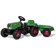 Rolly Toys Rolly Kid Pedal Tractor with Green-red Siding - Pedal Tractor