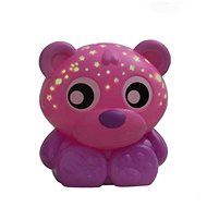 Playgro Teddy Bear Sleeping Lamp with Pink Projector - Toddler Toy