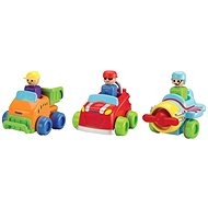 Toomies Squeeze the Racing Car and Go - Toddler Toy
