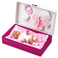 Teddies Doll / baby doll with solid body and accessories - Doll