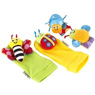 Lamaze Gardenbug Foot Finder and Wrist Rattle Set - Plush Toy