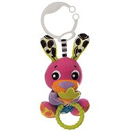 Playgro Peek-A-Boo Wiggling Bunny - Pushchair Toy