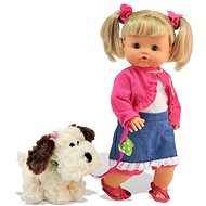 Bambolina Nena with a Dog - Doll