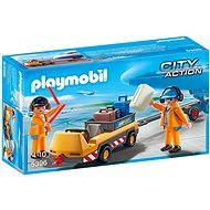Playmobil 5396 Aircraft Tug with Ground Crew - Building Kit