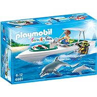 Playmobil Diving Trip with Speedboat 6981 - Building Kit
