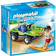 Playmobil 6982 Surfer with Beach Quad - Building Kit