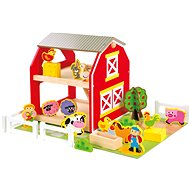 Bino Farm With Animals - Game Set