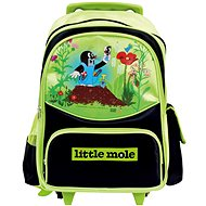Bino Little Mole Wheeled Bag - Children's backpack