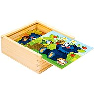 Bino My first puzzle, Baribal - Picture Blocks