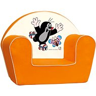Bino Orange Armchair - Little Mole - Children's furniture