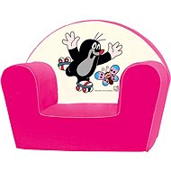 Bino Armchair Pink - Mole - Children's furniture
