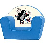 Bino Blue Armchair - Mole - Children's furniture