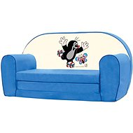 Bino Mini-blue sofa - Little Mole - Children's furniture