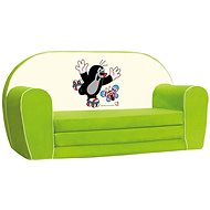 Bino Mini Green Sofa - Little Mole - Children's furniture