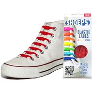 Shoeps - Red Silicone Laces - Lace Set